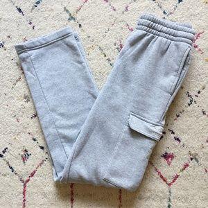 Umbro Gray Cargo Sweatpants